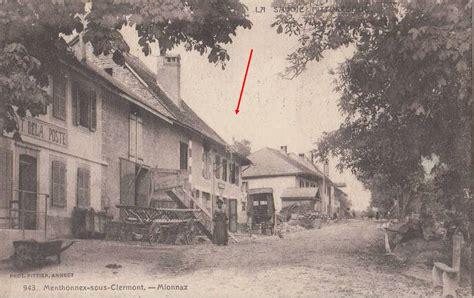 bureau de poste annecy 1878 création du bureau de menthonnex sous clermont