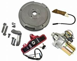 New Honda Gx340 11 Hp Electric Starter Kit Fits 11hp