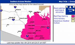 MADWEATHER: Red Flag Warning Today - Sprinkles To Start ...