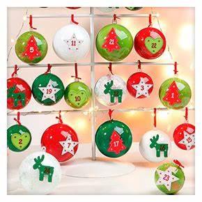 Weihnachtskugeln Selbst Gestalten : weihnachtskugeln basteln weihnachten buttinette bastelshop ~ Lizthompson.info Haus und Dekorationen