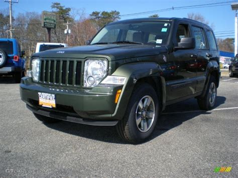 green jeep liberty 2008 2008 jeep green metallic jeep liberty sport 4x4 46183125
