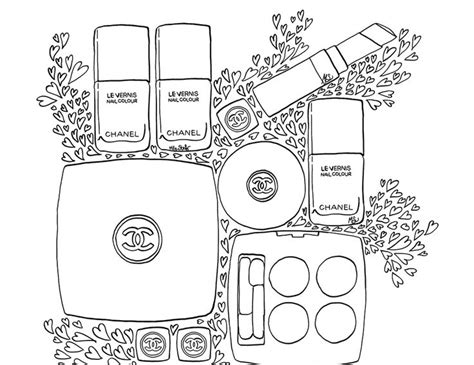 Kleurplaat Gucci Logo by 17 Best Images About Coloriage Coloring Mademoiselle