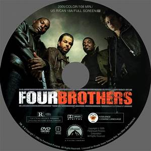 Four Brothers - Custom DVD Labels - Four Brothers2 :: DVD ...
