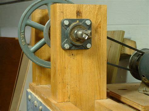 homebuilt wood lathe