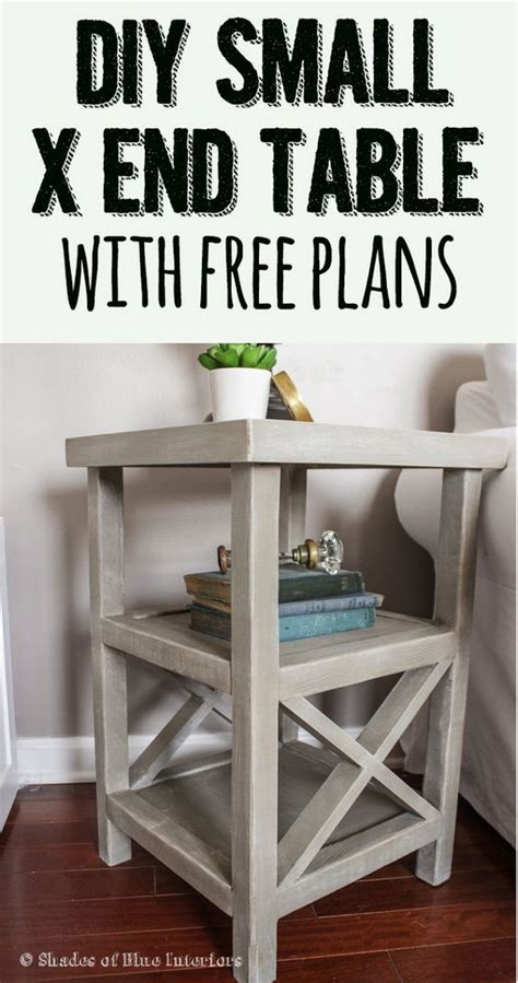 25 DIY Side Table Ideas With Lots of Tutorials 2017