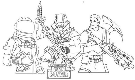 disegni da colorare fortnite season 8 fortnite battle 3 season pass skins coloring page