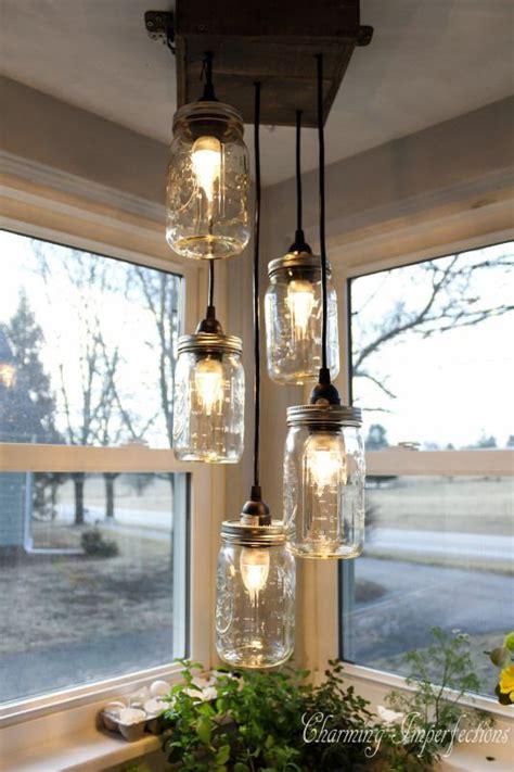 diy jar light fixture 14 creative diy light ideas interior fans