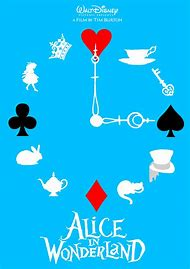 alice in wonderland imagery