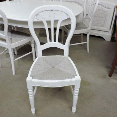 chaise en paille blanche chaise en paille blanche maison design wiblia com