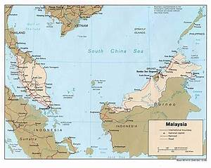 Malaysia Country Maps
