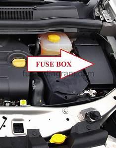 Fuse Box Opel  Vauxhall Zafira B