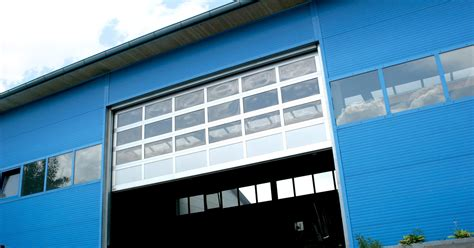 portoni sezionali portone sezionale industriale in alluminio bremet lxu al42
