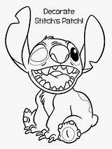 Eye Patch Printable Drawings Drawing Stitch Coloring Draw sketch template