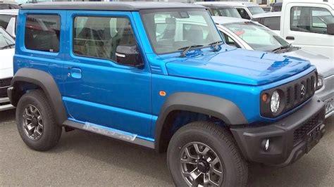 Suzuki Jimny 2018 Suzuki Jimny Suv Awd In Electric Blue With Offroad