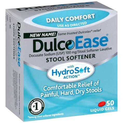 Is Bisacodyl A Stool Softener - dulcolax free stool softener liquid gels hy vee