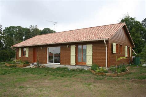 maison en bois kit cle en maison eco bois
