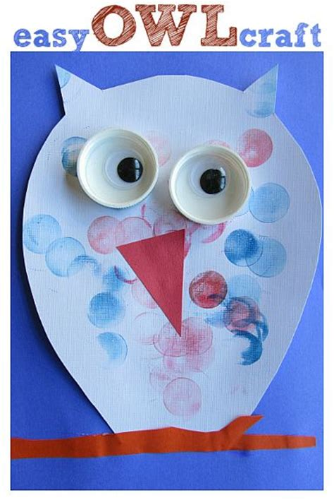 easy owl craft  kids  ots sites news articles