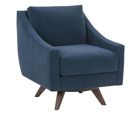 "Marla ""designer Style"" Modern Swivel Accent Chair Fabric"