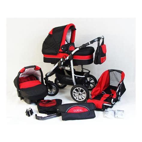 robe de chambre bébé poussette trio coral et noir poussette bébé 3 en 1
