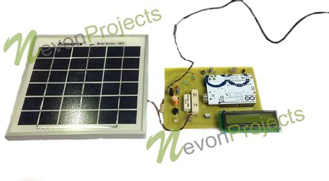 arduino based system  measure solar power