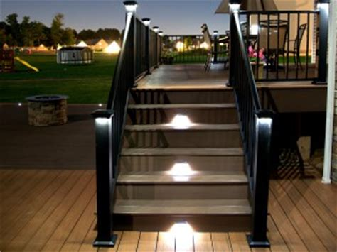 low voltage deck post lights outdoor low voltage lights penn fencing