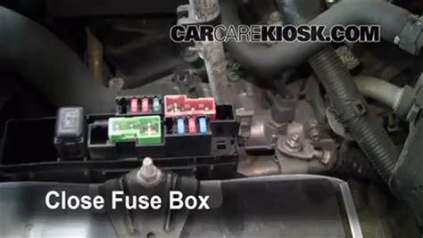 Blown Fuse Check Nissan Murano