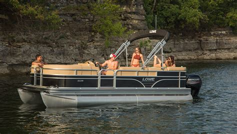 Lowe Boats Phone by 2019 Ss210 Sport Pontoon Boat Lowe Pontoons