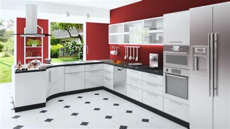 cocinas rojas  blancas descubre la nueva tendencia de