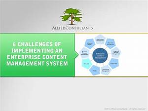 6 challenges of implementing an enterprise content With enterprise document management system