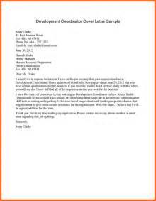 non profit cover letter soap format