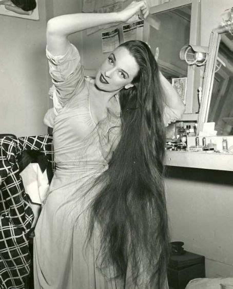 patricia morison~her long hair was one of her trade marks