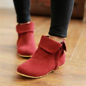 womens flat leather boots sale sale made ankle boots nubuck leather boots flat boots with invisible