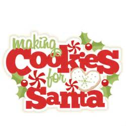 Christmas Cookies for Santa Cookie Clip Art Images