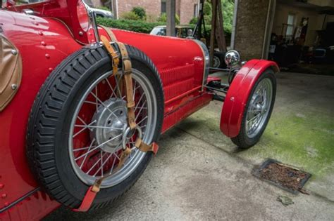 Bugatti Type 35 37 Replica Kit Car