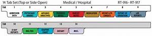 Hospital Chart Binders Home Health Care Poly Chart Divider Set 14 Tabs Chart