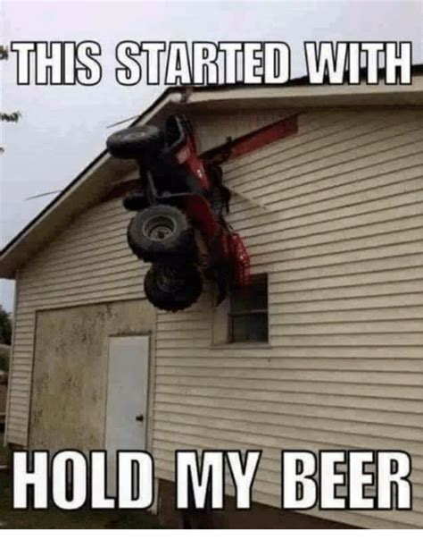 Hold My Beer Meme - funny hold my beer memes of 2017 on sizzle