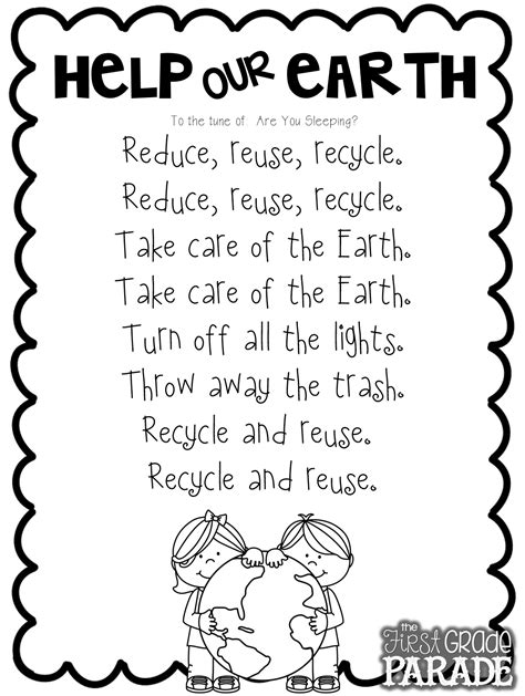 preschool earth day songs let s get ready for earth day teaching amp crafts 827