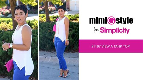 Style In Simplicity [Visualized] : Mimi G Style For Simplicity, Pattern 1167 Tutorial. View A