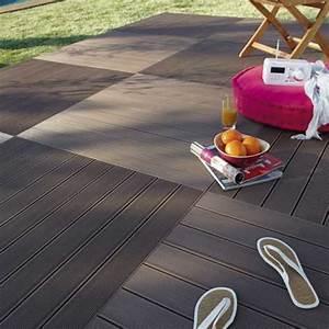 Dalle Composite 50x50 : comment choisir sa terrasse en bois leroy merlin ~ Premium-room.com Idées de Décoration