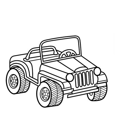 jeep coloring page boys coloring book cars coloring
