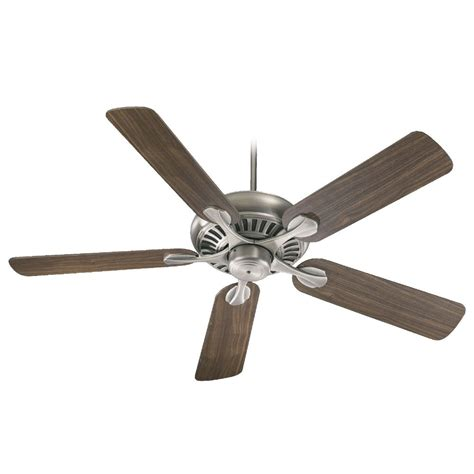 silver ceiling fan with light quorum lighting antique silver ceiling fan