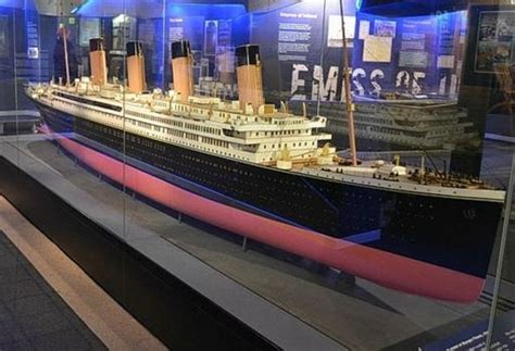 Titanic Boat Liverpool Tripadvisor by The Model Of Titanic In Museum Picture Of Merseyside