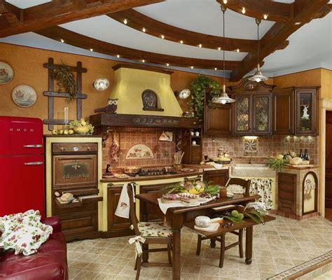 Cucina In Muratura Rustica Foto by Foto Cucine Rustiche Idee Di Design Per La Casa