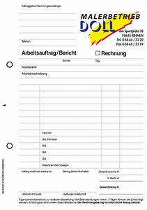 Kunde Zahlt Rechnung Nicht : formular arbeitsauftrag das auftragsformular individuelle formulare und durchschreibes tze ~ Themetempest.com Abrechnung