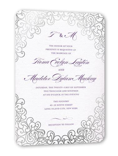 Dazzling Lace 5x7 Wedding Invitation Cards Shutterfly