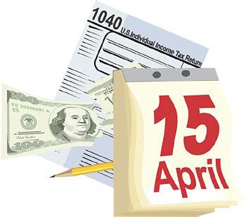 Tax Deadline Calendar 2018