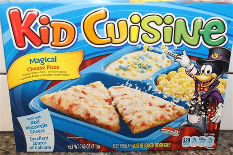 Kid Cuisine Magical Cheese Pizza Review Youtube