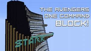 18 THE AVENGERS ONE COMMAND BLOCK FROM THE CREATOR OF