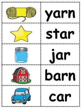 ar sound  controlled vowel lesson plans
