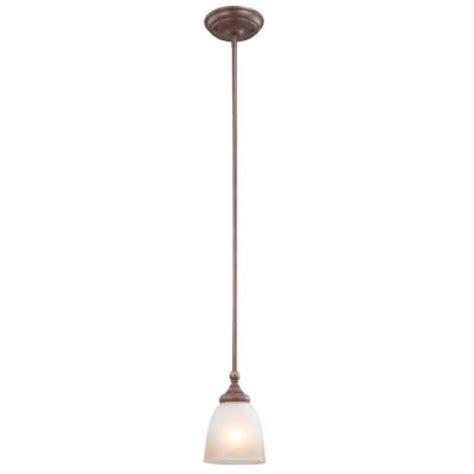 hton bay bristol collection 1 light nutmeg bronze mini